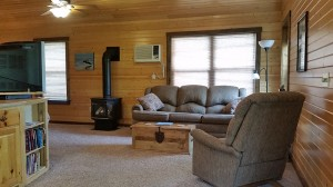 cabin-sofa-recliner-trunk-wood-stove-horns-ferry-hideaway