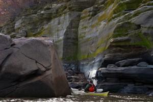 Lake-Red-Rock-water-trail-cliffs-horns-ferry-hideaway